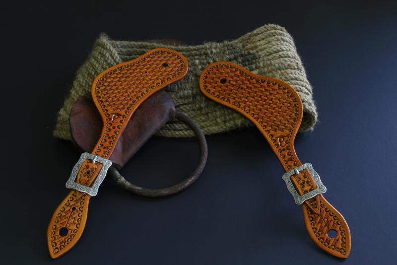 Latest off the bench    Spur Straps - Saddle and Tack