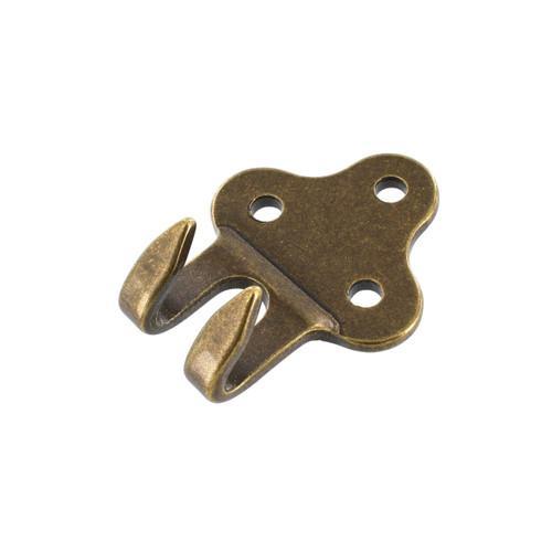 B8149 Antique Brass, Belt/Strap Hook, Brass-LL