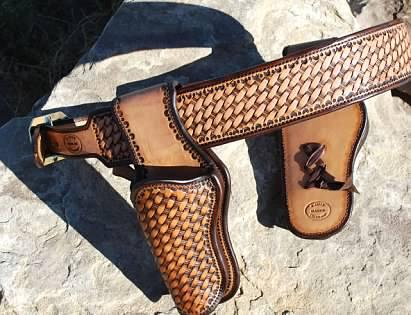 Cowboy Action rigs SASS - Gun Holsters, Rifle Slings and