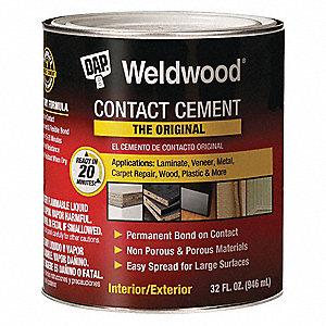 Cement, Contact, 1 Qt