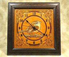 Clock design created for a PIF event.