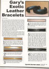 leather bracelets #2