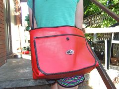 Red and Black Bag
