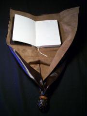 Historical re-creation: Girdle Book inside