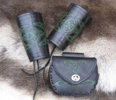 Carved Celtic set