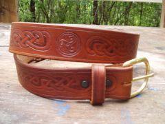 Celtic Knotwork Belt