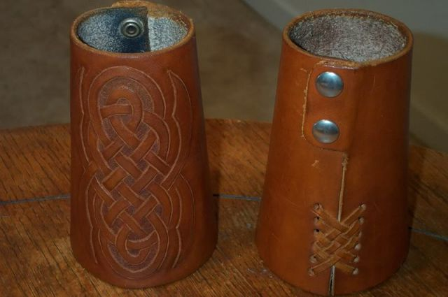 Bracers /w Celtic Knots