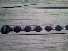 Black Stingray Concho Belt