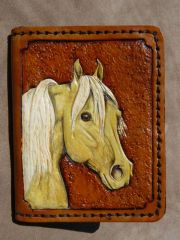 Palomino Horse Head Wallet