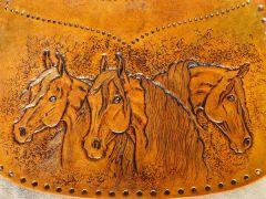 Horse purse WIP #1