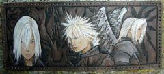 Final Fantasy tri-fold wallet