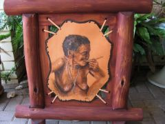 This old bushman women was such a pleasure to make!! So much caracter...