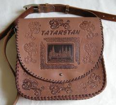 Handmade  Tatarstan (Russia) leathercraft