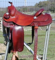 MJ Liggett Saddlery - Reining Saddles