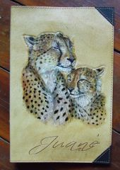 Another Cheetah bible Cover.. :-)