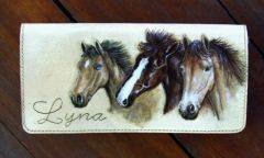 Ladies purse. Horses was fun for a change :)