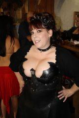 Leather armor corset
