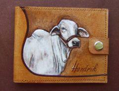 Custom made Brahman wallet