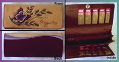 Ladies purse with 16 card slots.