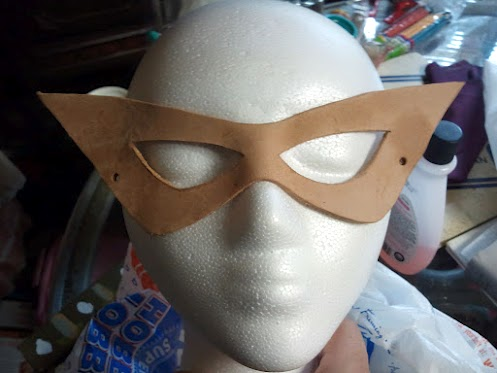 First Test Mask