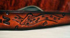 Guitarslinger strap - Closeup Front