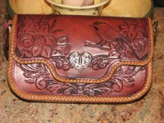 consignment purse front