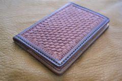 Basket weave note book