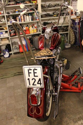 79 Shovelhead Full rear view