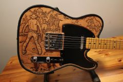 Leather Covered Telecaster