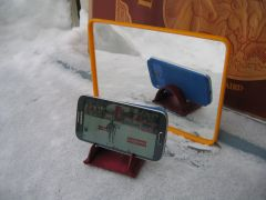Smartphone TV holder