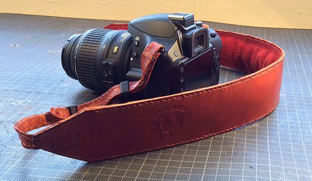Barking Rooster Camera Strap 2