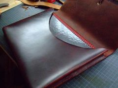 Folio with A4 spiral bound Pad inside