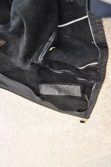 Backside of slash pocket
