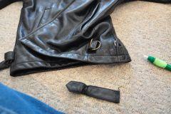 Side strap removed