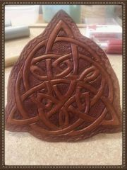 celtic leather