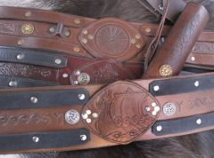 Carved War Belts 2013
