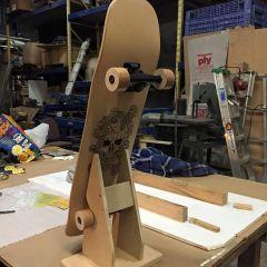skateboard stand