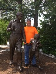 I'm in Mayberry, with family