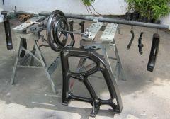 BUSM HM6....No.7114 ...stand restoration