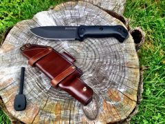 KaBar BK2 Leather Knife Sheath