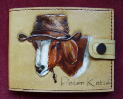 Goat wallet