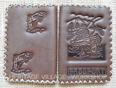 Cover for fisherman's passport .