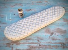 Buffalo leather skateboard..