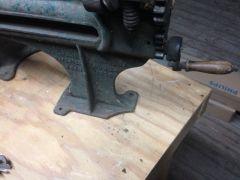 Strap cutter (missing a corner)
