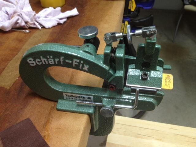 scharf fix paring machine