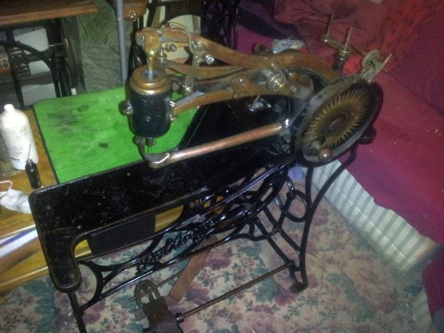 leather sewing machine craigslist