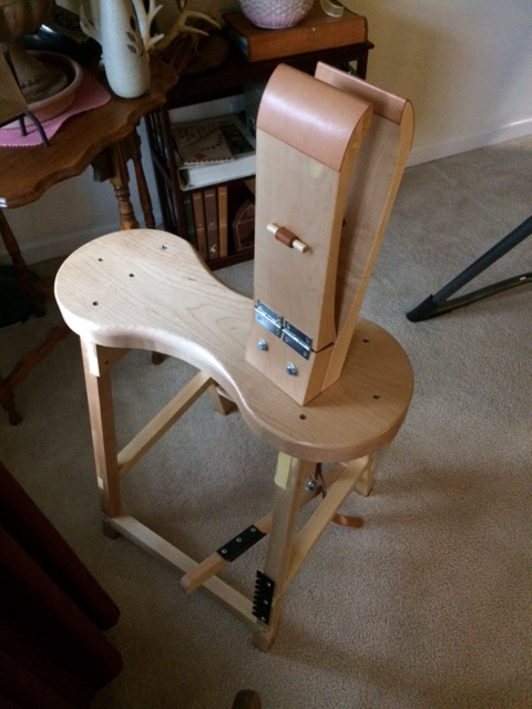 Harness Maker Stitching Horse Hand Tools Leatherworking