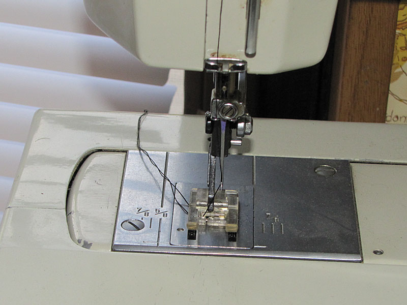 how to sew leather with a sewing machine