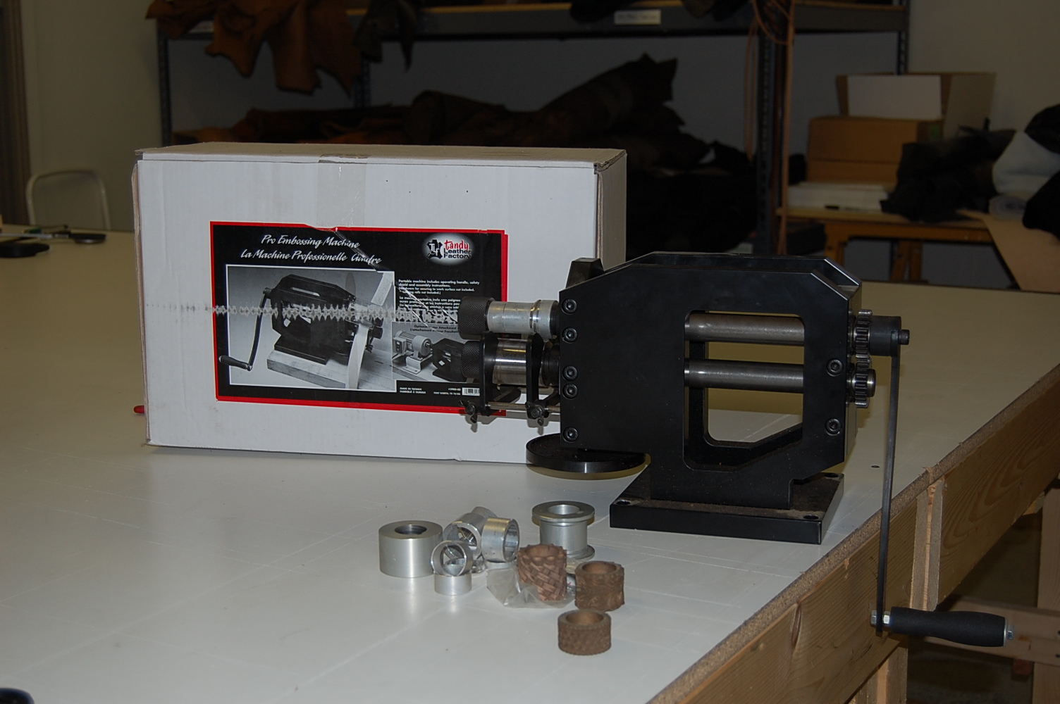 tandy leather embossing machine
