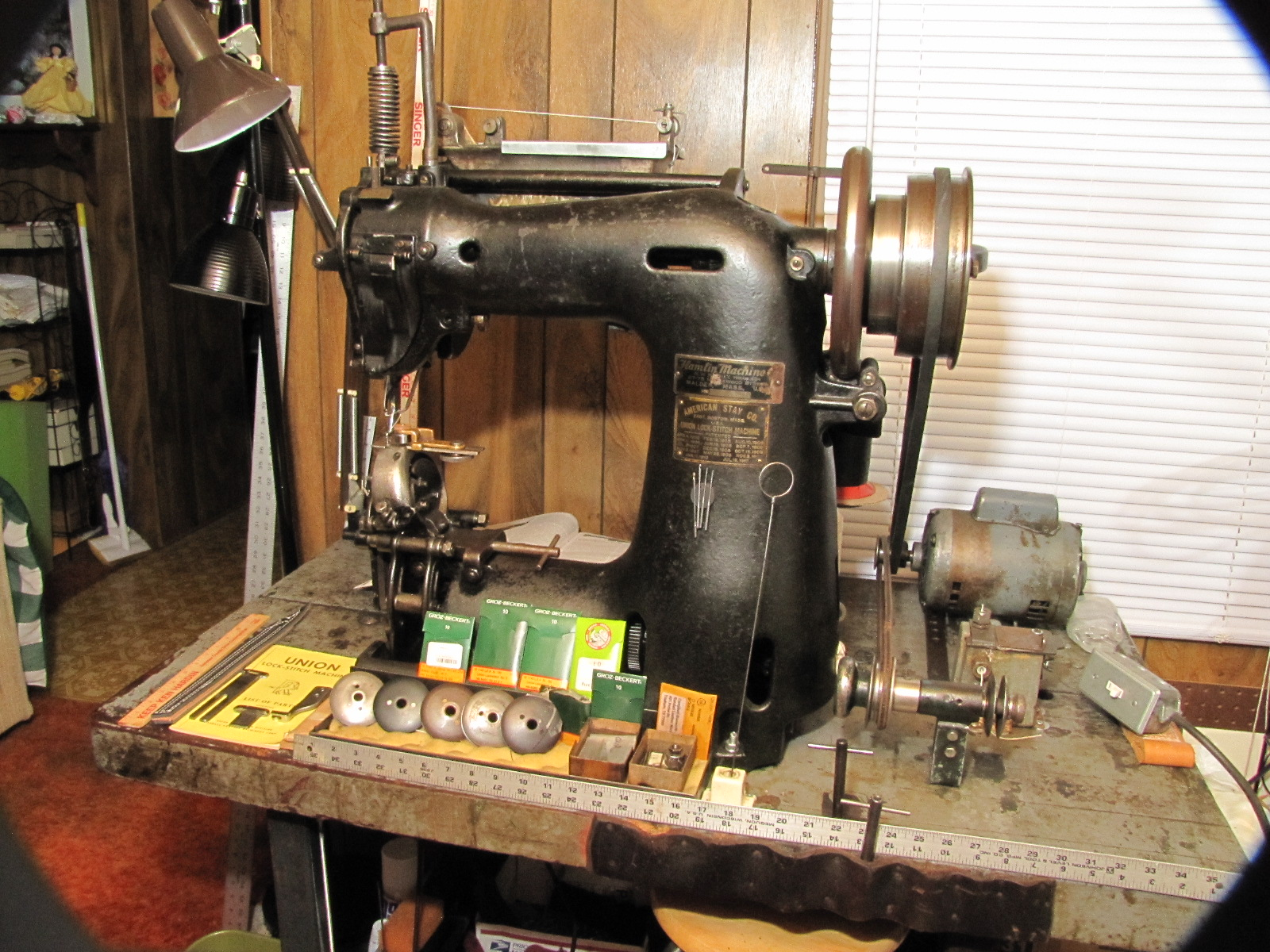 Union Lockstitch Machine For Sale Or Trade - Old/Sold ...